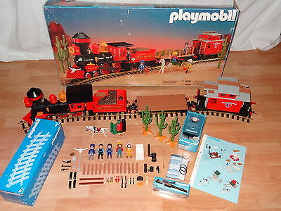 Playmobil 4034 , Steaming Mary , Pacific Railroad , in OVP , passend zu 3770 ,+