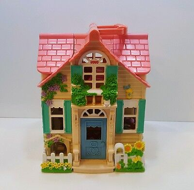 Fisher Price Loving Family Sweet Streets Country Cottage House By Mattel 2000