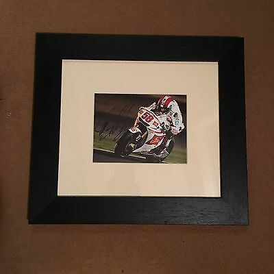 Very Rare GENUINE Hand Signed Marco Simoncelli Photo. Super Sic #58