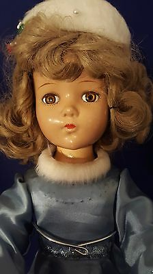Vintage Arranbee R & B Nancy Lee Composition 20 inch doll Ice skater outfit