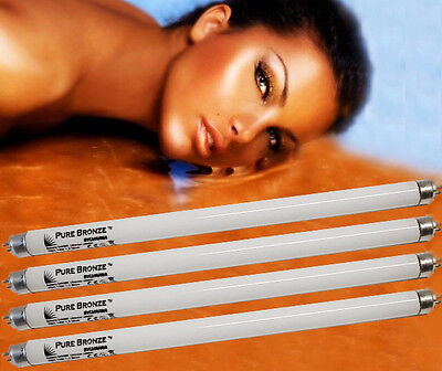 6 x NEW PURE SUN 15 WATT FACIAL SOLARIUM UV TANNING LAMPS FOR PHILIPS TANNER ETC