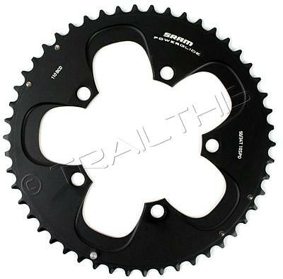 SRAM 50T / 110mm 10-Speed Road Bike Chainring use with 34T fits Force/Red
