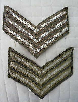 Home Guard Sergeant's Stripes