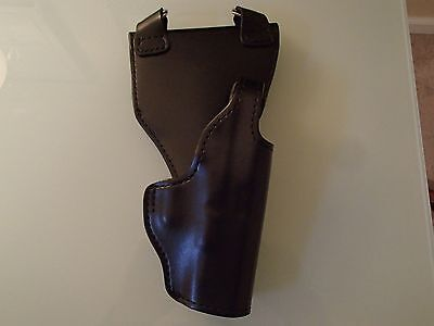 Gould & Goodrich - Blk Leather -Glock Gun Holster - Police / Security / Trooper