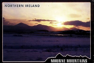 Sunset  Snow  Lovely View  The  Mountains Of Mourne Northern Ireland  By J Hinde