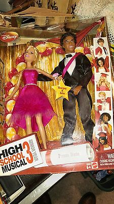 Disney Mattel High School Musical 3 Prom Date Sharpay and Zeke  New In Box