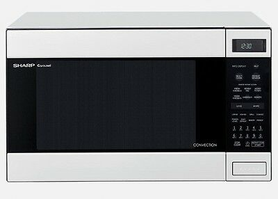 SHARP R990KW - 900W HUGE Convection Sensor Microwave Oven - White