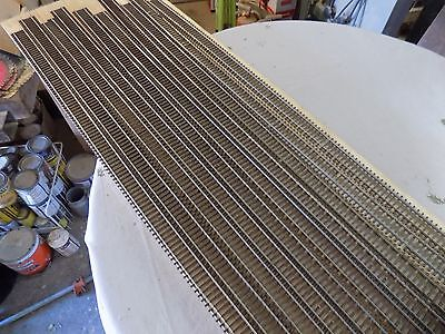 10 pis. ho scale track code 83 flex track