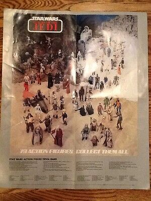 Vintage Star Wars Is Forever Promo Poster Return Of The Jedi Kenner 22 X 18