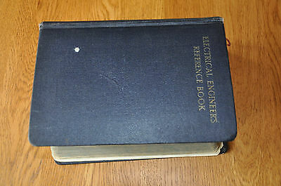 Electrical Engineers Reference Book Molloy/Say 8th Ed, Newnes, 1950's Vintage