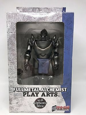 FULLMETAL ALCHEMIST - ALPHONSE ELRIC - PLAY ARTS Action Figure 6in Toy