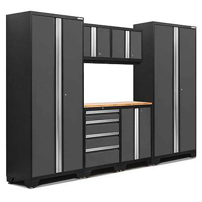 Workshop Storage Cabinets Garage Tools Workbench Steel