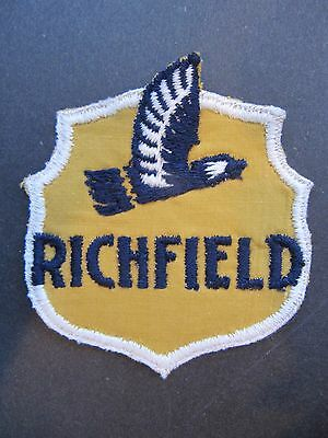 Vintage Richfield Gas/oil Employee Uniform Cloth Embroidered Patch