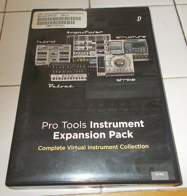 Pro Tools Instrument Expansion Pack Rev. A (Virtual Instrument Collection)