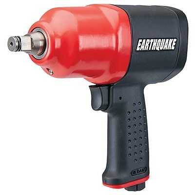 NEW EarthQuake Professional 1/2 in. Heavy Duty Composite Air Impact Wrench