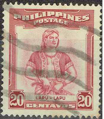 "PHILIPPINES 1952,  SET of 10, ""Portraits"" Overprint variations,  3144"