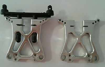 Rc Integy Alloy Front And Rear Hpi E-Savage Shock Towers