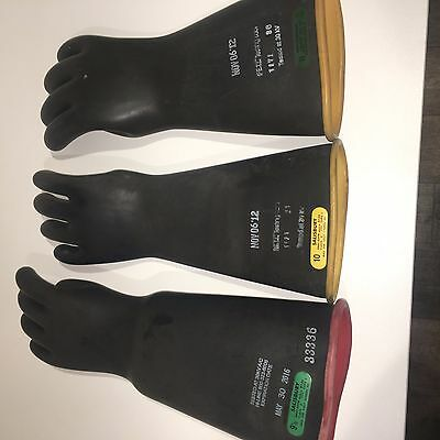 Salisbury Lineman Electrical Gloves Odd Lot Class 2 and Class 3 Gloves