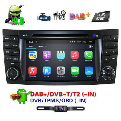 "Android 5.1 7"" Car CD DVD GPS Stereo Radio for Mercedes Benz G/E Class W211 W463"
