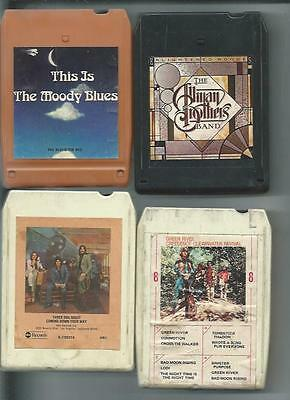 The Allman Brothers Band-Enlighted Rogue-8 Track Tape 1979 Capicorn