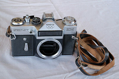 Zenit EM Moscow Olympics 1980 classic SLR35mm  Russian Soviet camera, body only