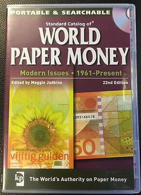 Standard Catalog of World Paper Money, Modern Issues, 22nd Edition