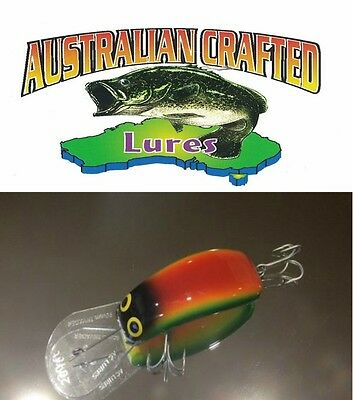 Australian Crafted Lures- cod 90mm invader Capricorn col;9, 20ft a.c.lures