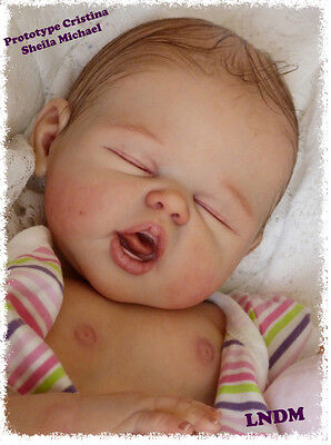 New Reborn Baby Doll Kit CRISTINA By Sheila Michael@LDC SoftLine Full Body *BOY