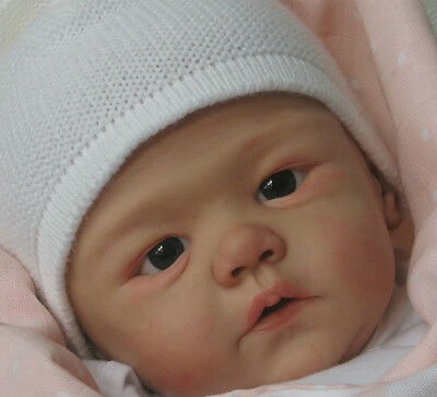 """New Reborn Baby Doll Kit Harlow by Sandy Faber @ 21""""@"""