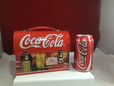 Coca-Cola Collectible Lunchbox Metal Tin