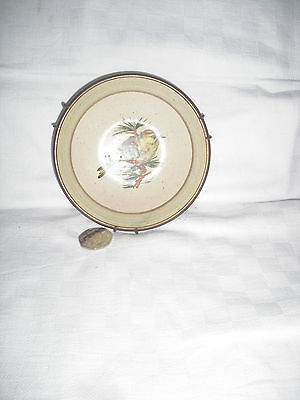 PURBECK POTTERY Bournemouth  Dish with Bird