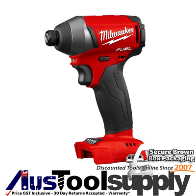 "Milwaukee Fuel M18 Brushless 1/4"" Impact Driver  M18Fid-0 Gen Ii 2753-20"