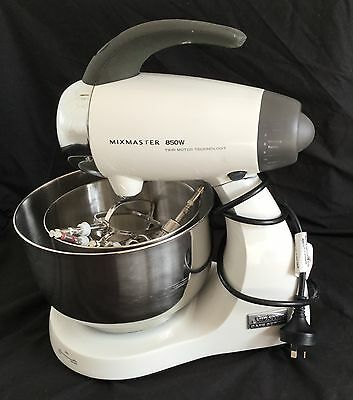 Sunbeam 850W Cafe Series Mixmaster - White- in working order