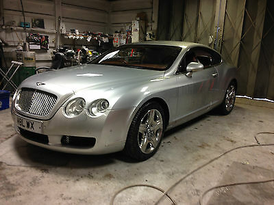 Bentley Continental Gt 2004 Spares Or Repair Runs And Drives Not Damaged Salvage