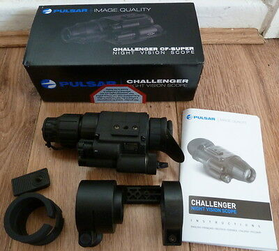 Night vision scope Challenger 1x20 Pulsar + DOS adaptor