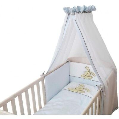 B-Ware Be Be's Collection 308-53 Hasi Bett Set 3tlg., blau