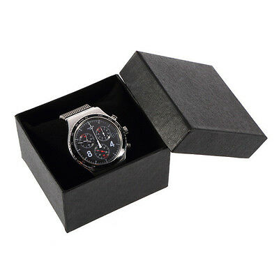 Watch Jewelry Bangle Bracelet Paper Display Present Gift Box Case 4 Colors P~