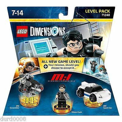 Mission Impossible - Ethan Hunt - Level Pack - Lego Dimensions - 71248 - New