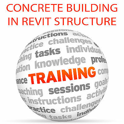 Creating Concrete Building in REVIT Structure - Video Training Tutorial DVD