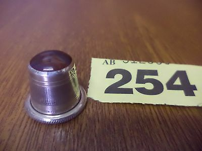 Vintage Solid Silver Thimble with Attractive Polished Stone Top - D.S.W / 1994