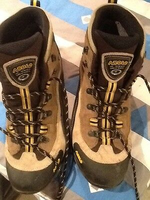 ASOLO GV Gore-Tex Mountaineering Hiking Boots,vide fit, US 11 UK 10 EUR 45