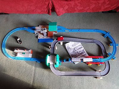 Thomas The Tank Engine & Cranky Deluxe Action Set With Bertie Bus & Boat