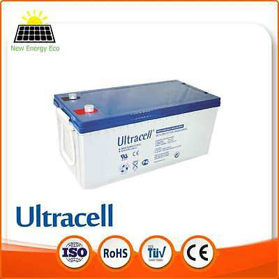 Batterie Solaire Gel Ultracell UCG 12V 200AH Ultracell (Prix Dégressif)
