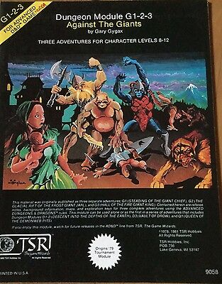 Dungeons and Dragons Module G1-2-3 Against the Giants