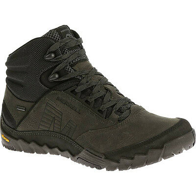 Merrell Mens Annex Mid Gore-Tex Waterproof Leather Walking Boots