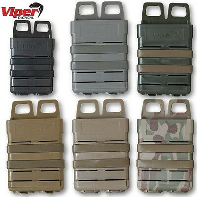 Viper Quick Release Mag Case Magazine Ammo Molle Pouch Webbing Airsof Military