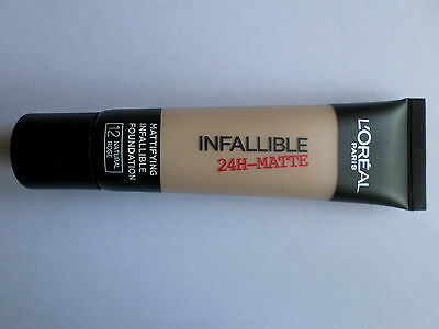 L'OREAL INFALLIBLE 24 HR MATTE FOUNDATION 35ml SHADE 20 SAND