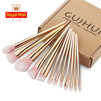 Pro 12PCS Kabuki Make up Brush Set Foundation Blusher Concealer Eyeshadow Tools