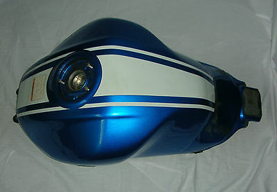 Suzuki USED SV650SK9 2009 Blue and White Fuel Tank 44100-17G10-YSF incl shield