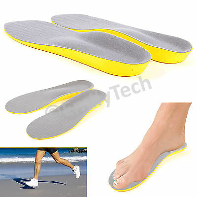 Orthopedic Trainer Foot Feet Comfort Heel Memory Foam Unisex Shoe Pads Insoles